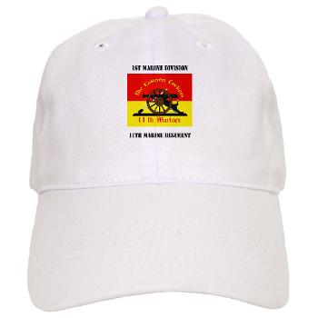 11MR - A01 - 01 - 11th Marine Regiment with text - Cap