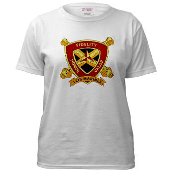 12MR - A01 - 04 - 12th Marine Regiment Women's T-Shirt