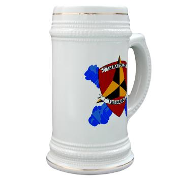 1B12M - M01 - 03 - 1st Battalion 12th Marines Stein