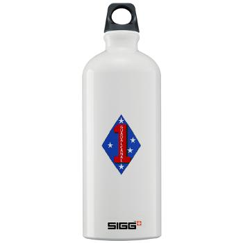 1B1M - M01 - 03 - 1st Battalion - 1st Marines Sigg Water Bottle 1.0L