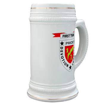 1B7M - M01 - 03 - 1st Battalion 7th Marines Stein