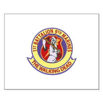 1B9M - M01 - 02 - 1st Battalion - 9th Marines - Small Poster