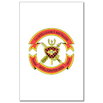 1IB - M01 - 02 - 1st Intelligence Battalion - Mini Poster Print