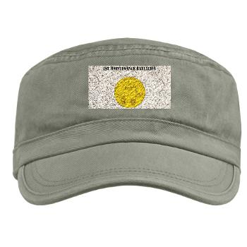 1MB - A01 - 01 - 1st Maintenance Battalion with Text - Military Cap