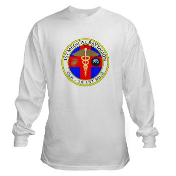 1MB - A01 - 03 - 1st Medical Battalion Long Sleeve T-Shirt