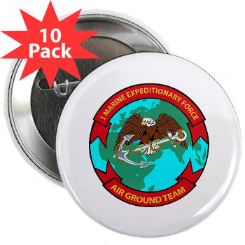 "1MEF - M01 - 01 - 1st Marine Expeditionary Force - 2.25"" Button (10 pack)"