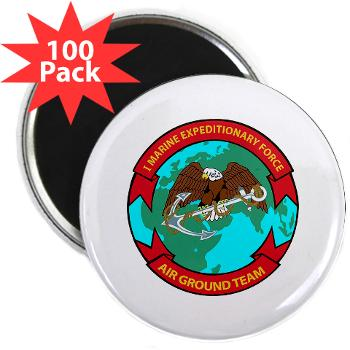 "1MEF - M01 - 01 - 1st Marine Expeditionary Force - 2.25"" Magnet (100 pack)"