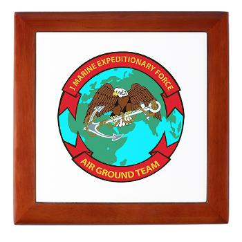 1MEF - M01 - 03 - 1st Marine Expeditionary Force - Keepsake Box