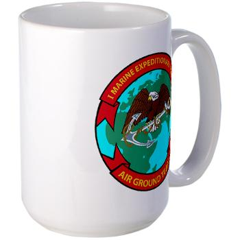 1MEF - M01 - 03 - 1st Marine Expeditionary Force - Large Mug