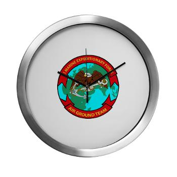 1MEF - M01 - 03 - 1st Marine Expeditionary Force - Modern Wall Clock