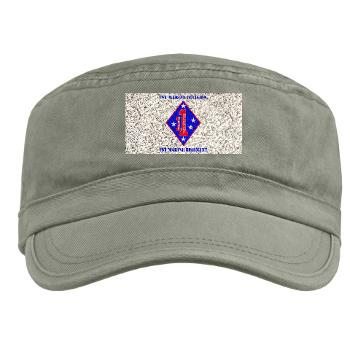 1MR - A01 - 01 - 1st Marine Regiment with Text - Military Cap
