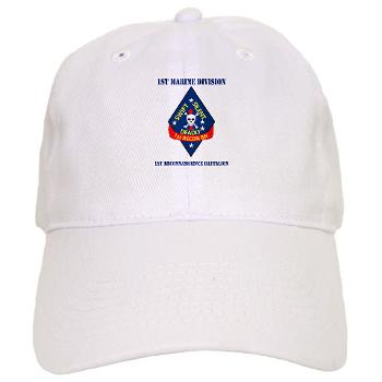 1RB - A01 - 01 - 1st Reconnaissance Battalion with Text Cap