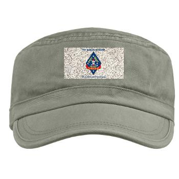 1RB - A01 - 01 - 1st Reconnaissance Battalion with Text Military Cap