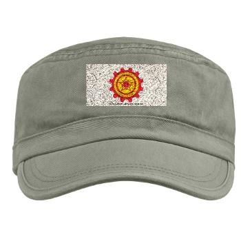 21CLC - A01 - 01 - 21st Combat Logistics Coy with Text - Military Cap