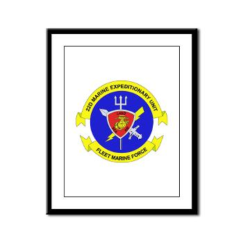 22MEU - M01 - 02 - 22nd Marine Expeditionary Unit - Framed Panel Print