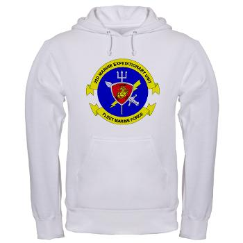 22MEU - A01 - 03 - 22nd Marine Expeditionary Unit - Hooded Sweatshirt