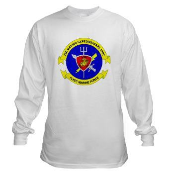 22MEU - A01 - 03 - 22nd Marine Expeditionary Unit - Long Sleeve T-Shirt