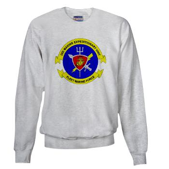 22MEU - A01 - 03 - 22nd Marine Expeditionary Unit - Sweatshirt
