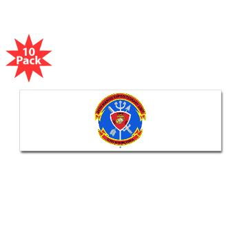 24MEU - M01 - 01 - 24th Marine Expeditionary Unit - Sticker (Bumper 10 pk)