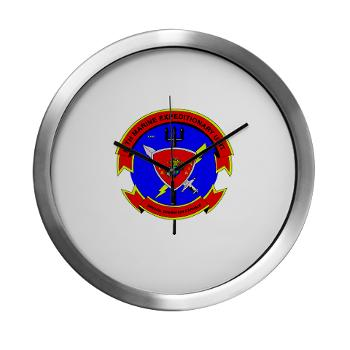 26MEU - M01 - 03 - 26th Marine Expeditionary Unit - Modern Wall Clock