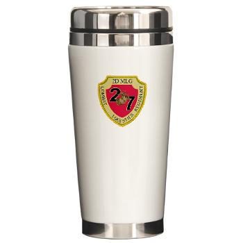 27CLR - M01 - 03 - 27th Combat Logistics Regiment - Ceramic Travel Mug