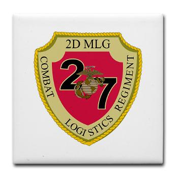 27CLR - M01 - 03 - 27th Combat Logistics Regiment - Keepsake Box