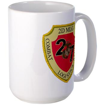 27CLR - M01 - 03 - 27th Combat Logistics Regiment - Large Mug