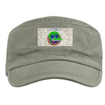 2AAB - A01 - 01 - 2nd Assault Amphibian Battalion with Text Military Cap