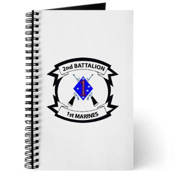 2B1M - M01 - 02 - 2nd Battalion - 1st Marines - Journal