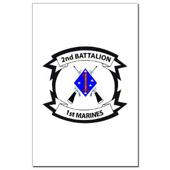 2B1M - M01 - 02 - 2nd Battalion - 1st Marines - Mini Poster Print
