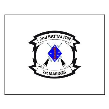 2B1M - M01 - 02 - 2nd Battalion - 1st Marines - Small Poster