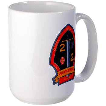 2B2M - M01 - 03 - 2nd Battalion - 2nd Marines Large Mug