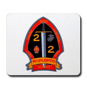 2B2M - M01 - 03 - 2nd Battalion - 2nd Marines Mousepad