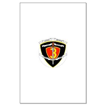 2B3M - M01 - 02 - 2nd Battalion 3rd Marines Large Poster
