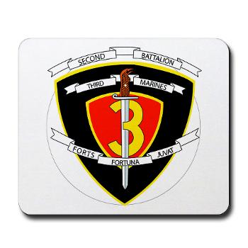 2B3M - M01 - 03 - 2nd Battalion 3rd Marines Mousepad