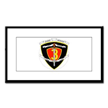 2B3M - M01 - 02 - 2nd Battalion 3rd Marines Small Framed Print