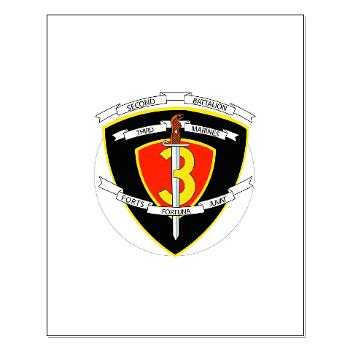 2B3M - M01 - 02 - 2nd Battalion 3rd Marines Small Poster