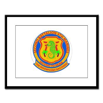 2B4M - M01 - 02 - 2nd Battalion 4th Marines - Greeting Cards (Pk of 10)