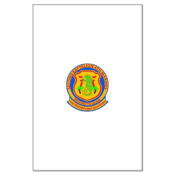 2B4M - M01 - 02 - 2nd Battalion 4th Marines - Small Framed Print