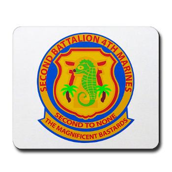 2B4M - M01 - 03 - 2nd Battalion 4th Marines - Mousepad