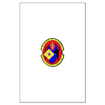 2B6M - M01 - 02 - 2nd Battalion - 6th Marines Large Poster