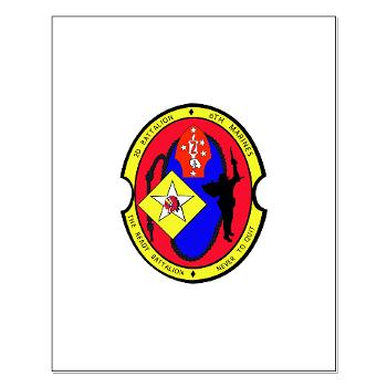 2B6M - M01 - 02 - 2nd Battalion - 6th Marines Small Poster
