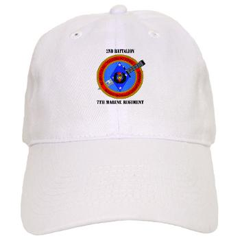 2B7M - A01 - 01 - 2nd Battalion 7th Marines with Text Cap