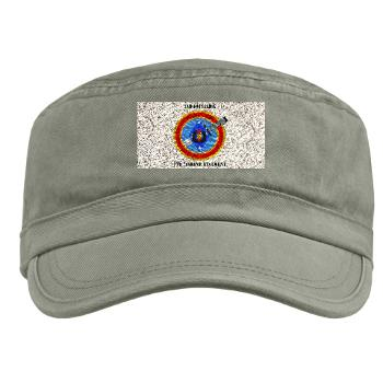 2B7M - A01 - 01 - 2nd Battalion 7th Marines with Text Military Cap