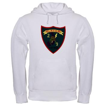 2B9M - A01 - 03 - 2nd Battalion - 9th Marines - Hooded Sweatshirt