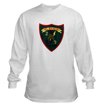 2B9M - A01 - 03 - 2nd Battalion - 9th Marines - Long Sleeve T-Shirt
