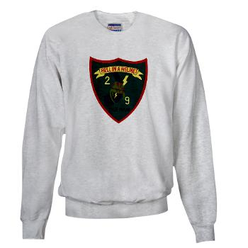 2B9M - A01 - 03 - 2nd Battalion - 9th Marines - Sweatshirt