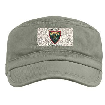 2B9M - A01 - 01 - 2nd Battalion - 9th Marines with Text - Military Cap