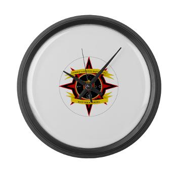 2CLB - M01 - 03 - 2nd Combat Logistics Battalion - Large Wall Clock