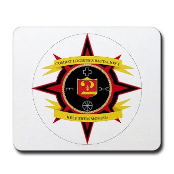 2CLB - M01 - 03 - 2nd Combat Logistics Battalion - Mousepad